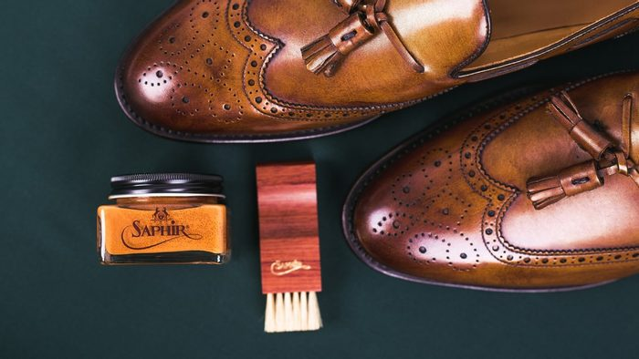 How to polish your shoes using cream polish
