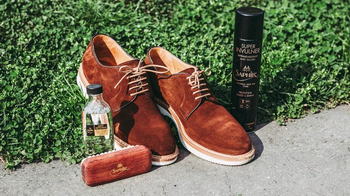 How to clean and care for suede & nubuck shoes