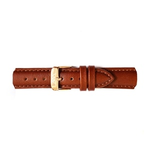 Lederarmband Rose Gold Brown