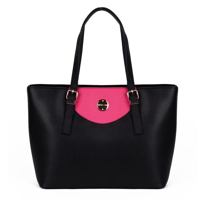 7b9b1be1e9d0f Vuch - Schwarze Damenhandtasche aus Kunstleder Sense Collection ...