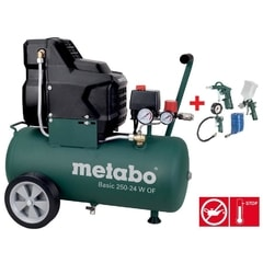 Metabo Basic 250-50 W OF + LPZ 4 Set - Set