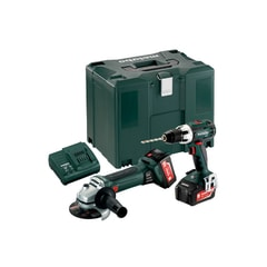 Metabo BS 18 LT+ W 18 LTX 125 - Combo Set 2.4.1 18 V - Metaloc III