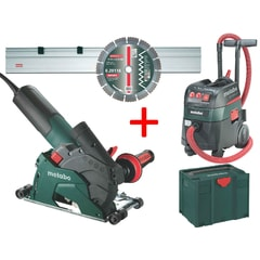 Metabo W12-125 HD Set CED 125Plus+ASR 35 M+lišt