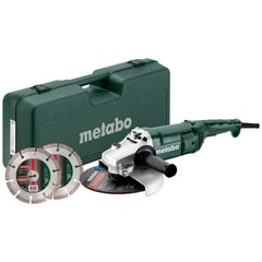 Metabo Set WE 2200-230 - úhlová bruska