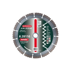 Metabo Diamantový kotouč 125x22,23 mm, professional, UP /628112000