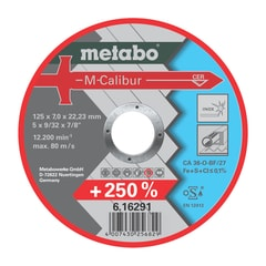 Metabo Brusný kotouč 125x7,0x22,23 mm M-Calibur# /616291000