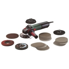 Metabo WEV 15-125 Quick Inox Set - Úhlová bruska