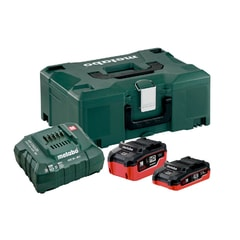Metabo 1 x 3.5 + 1 x 5.5 +met. - Basic-Set LiHD