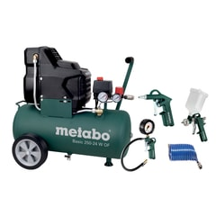 Metabo Basic 250-24 OF + LPZ 4 - Set