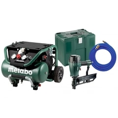 Metabo Power 400-20 W OF + DKG 114-65 Kompresor + Sponkovačka