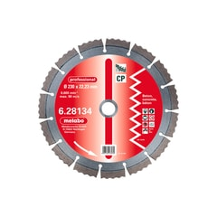 Metabo Diamantový kotouč 125x22,23 mm, professional, CP /628130000
