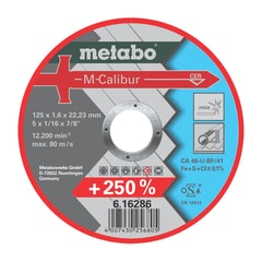 Metabo Řezný kotouč 125x1,6x22,23 mm M-Calibur# /616286000