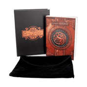 ZÁPISNÍK GAME OF THRONES FIRE AND BLOOD SMALL JOURNAL - GAME OF THRONES - HRA O TRŮNY
