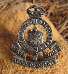 ROYAL CORPS ARMY ORDNANCE BADGE