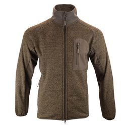 MIKINA Weardale Knitted Jacket Brown
