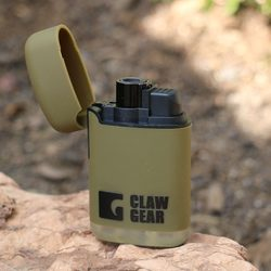 CLAWGEAR ZAPALOVAČ, Storm Pocket Lighter zelený