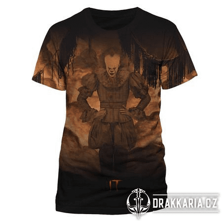 IT - FLAMES SUBLIMATED, UNISEX TRIČKO