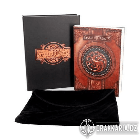 ZÁPISNÍK GAME OF THRONES FIRE AND BLOOD SMALL JOURNAL