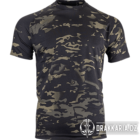 TRIČKO MESH-TECH T-SHIRT VCAM BLACK