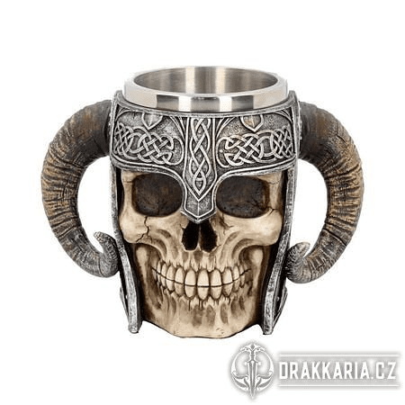 VIKING SKULL, HRNEK 550 ML