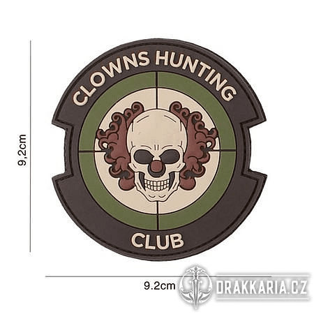 CLOWNS HUNTING CLUB, MULTI NÁŠIVKA