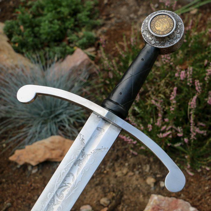 leptaný meč
