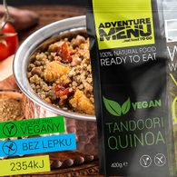 Adventure Menu - Tandoori Quinoa VEGAN