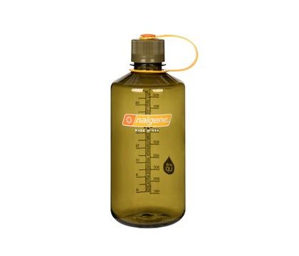 Sticla NALGENE Narrow Mouth 32oz (1 000 ml) - oliv