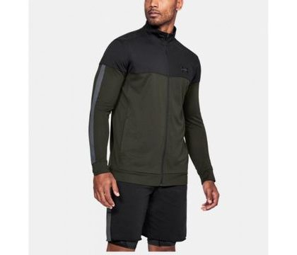 Pulover sport Under Armor® Pique - negru-verde