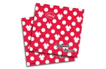 Ubrousky Minnie  Fashion 33x33 cm 20 ks