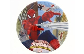 "Talíře "" Ultimate Spiderman "" 23 cm, 8 ks"