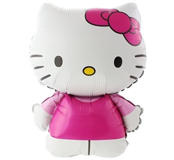 Balón foliový 60 cm Hello Kitty