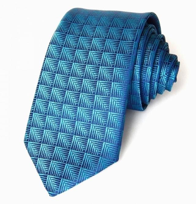 GEOMETRIE, die Krawatte der Männer Krawatten, Fliegen