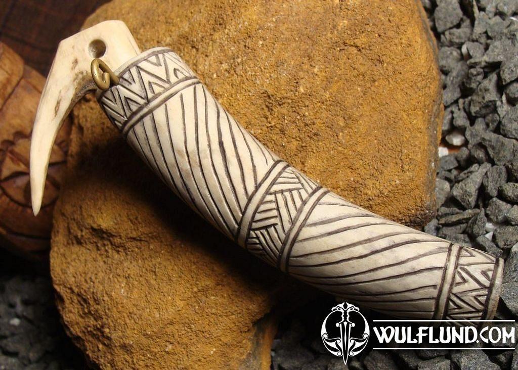 Viking Or Slavic Needle Case Bone Carving Wulflund Com