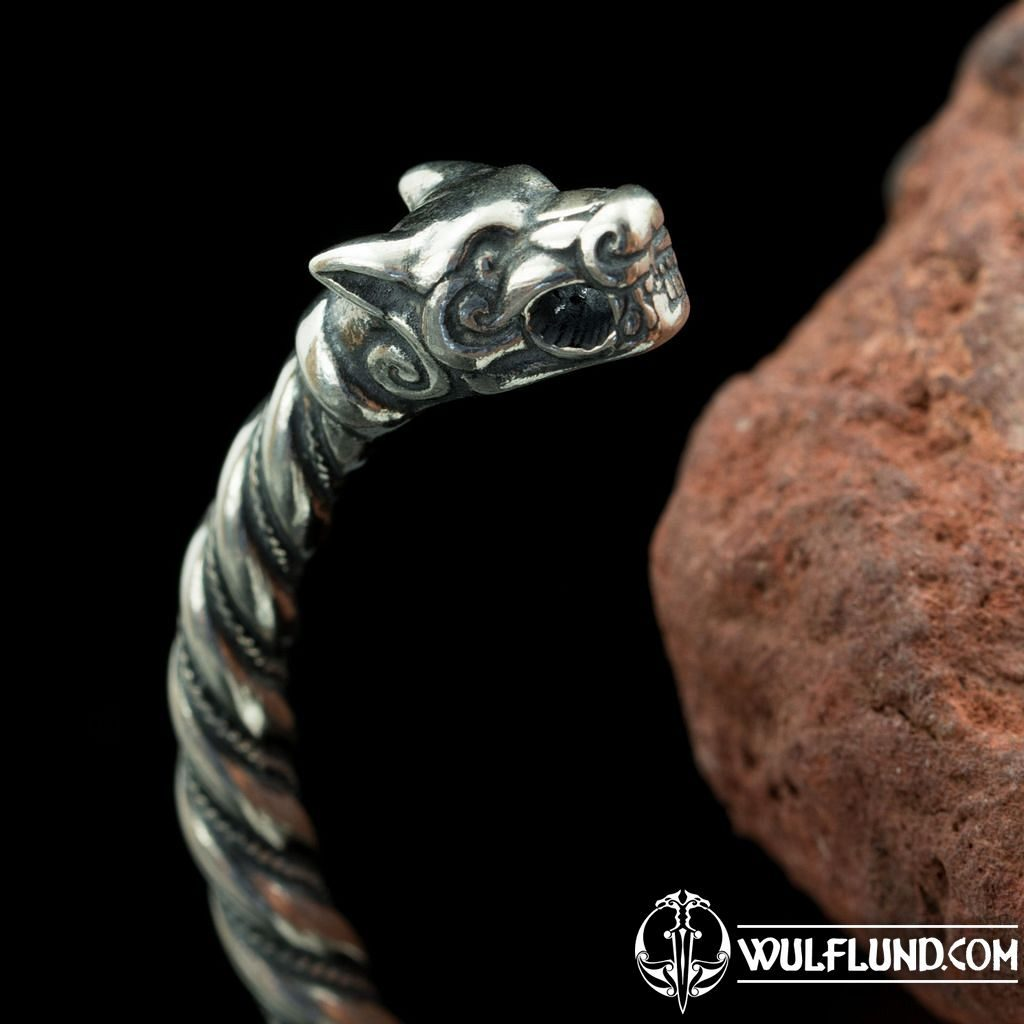 Viking Arm Ring. 925 Silver Early Medieval Bracelet Sterling Silver Replica of Viking Bracelet