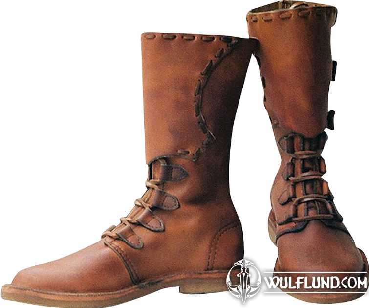 Men/'s Medieval Style Renaissance Boots Hand Made Leather Shoes Pirate Movie Boot