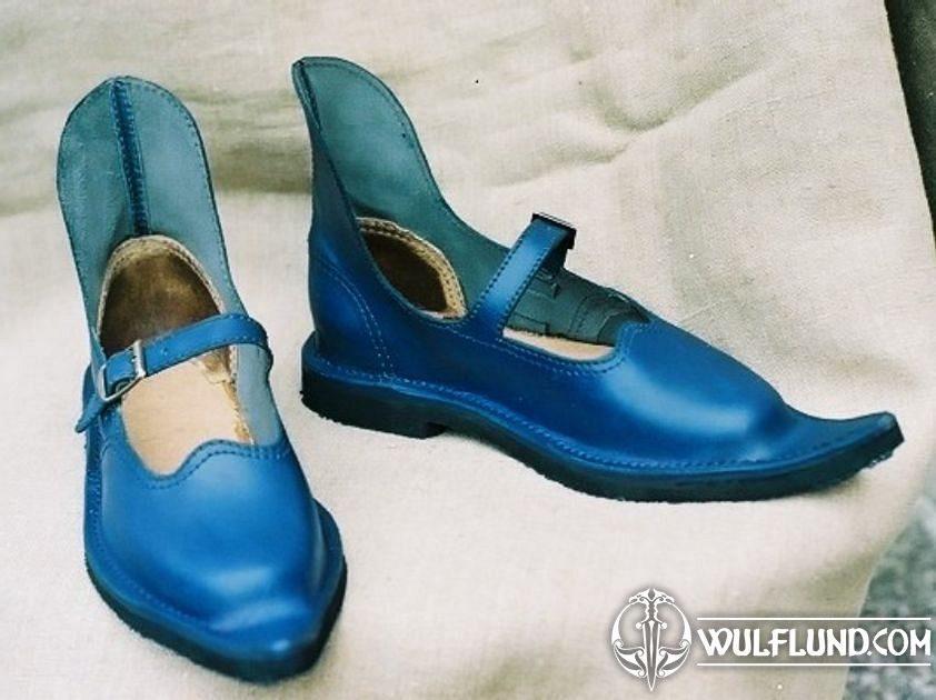 2020 Hot9 Blue Crystal High Heel Shoes Pendant Charm 925
