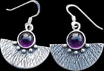 Mystica silver collection - earrings