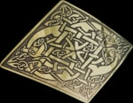 celtic brass jewels, import from Ireland