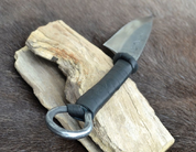 CRUACHAN, CELTIC HAND FORGED KNIFE - KNIVES