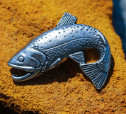 TROUT, FISH, FISHING PENDANT, TIN - ANIMAL PENDANTS