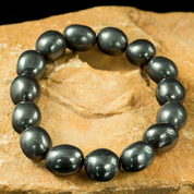 HEMATITE BRACELET WITH STONES - FANTASY JEWELS