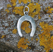 HORSESHOE, SILVER PENDANT - MYSTICA SILVER COLLECTION - PENDANTS