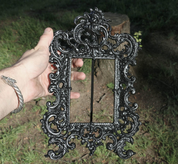 MIRROR OR PHOTO FRAME - FORGED IRON HOME ACCESSORIES