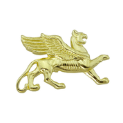 SCYTHIAN GRIFFIN, PENDANT, 14K GOLD - GOLDEN JEWELLERY