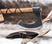 LODBROK, FORGED VIKING AXE - AXES, POLEWEAPONS