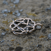PENTACLE, BRONZE PENDANT - PENDANTS, NECKLACES