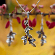 CRANBERRIES, JEWELLERY SET, SILVER - SILVER JEWELLERY SETS