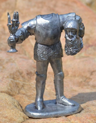 HEADLESS KNIGHT. TIN FIGURE - MINIATURES EN ÉTAIN