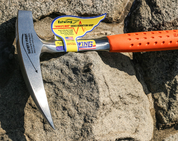GEOLOGY ROCK HAMMER, ESTWING, 900 G - ORANGE - ROCK HAMMERS